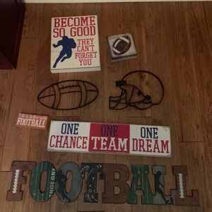 Football home decor